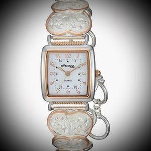 💖BEAUTIFUL Bracelet Style Quartz Watch!
